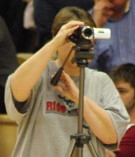 Any business can use almost any camera and get started with online video. Photo by Becky McCray.