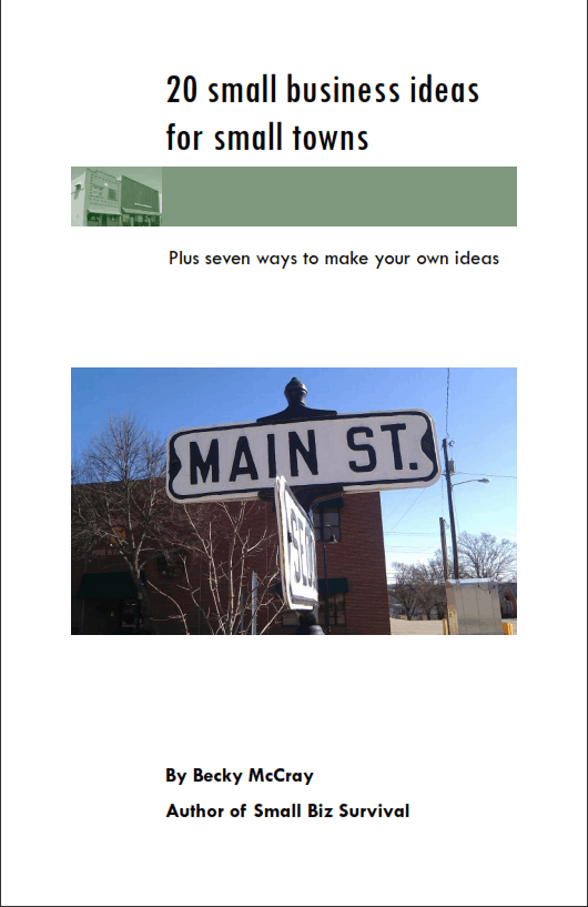 Business ideas booklet