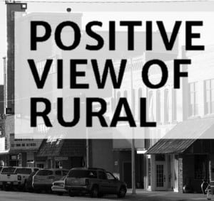 Positive View of Rural newsletter icon