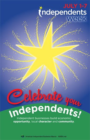 Celebrate your independents!