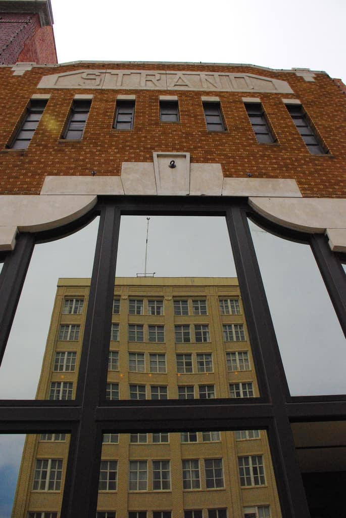 Strand theater building Hutchinson Kansas
