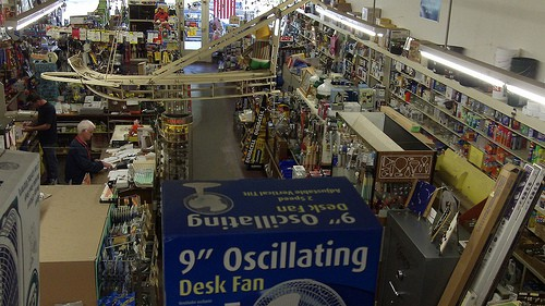 The hardware store in Concrete, Washington, strives to have everything customers might ask for.
