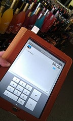 Our first step toward POS: Square for credit card processing.