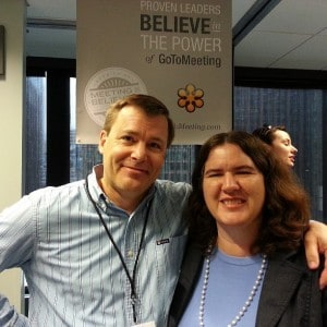 Steve Woodruff and Becky McCray.