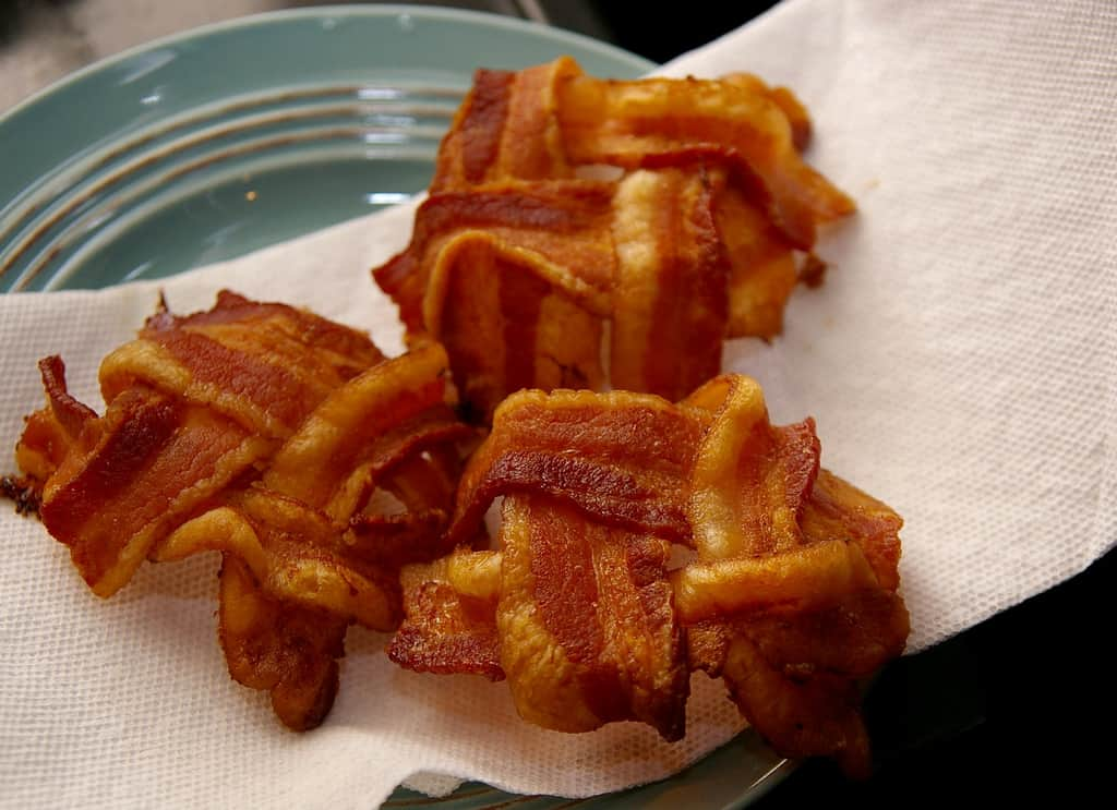Bacon Baskets. Photo by Yogma on Flickr