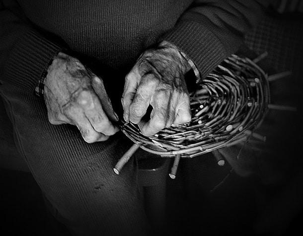 Old Basket maker by Wolfgangfoto