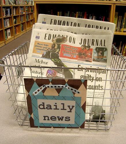 News Basket by Enokson