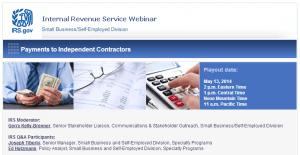 IRS Webinar