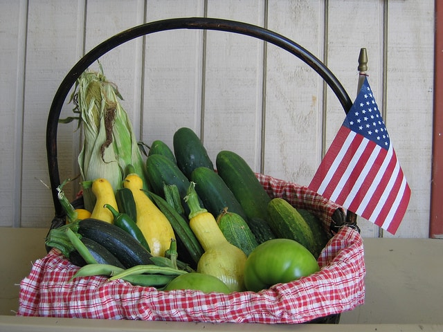 All American basket. Photo by UGA College of Ag