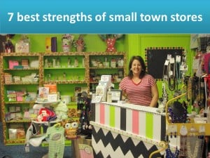 Which town is yours? A small town retail strengths/weaknesses story