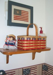 Patriotic basket by Shawn de Raaf on Flickr