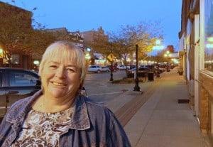 Deb Brown in Webster City, Iowa.