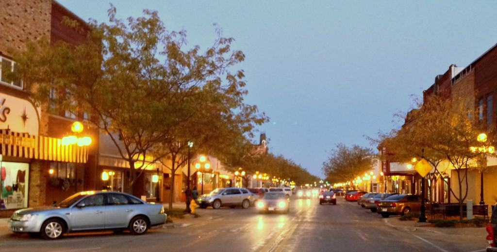 Webster City, Iowa. Photo by Becky McCray.