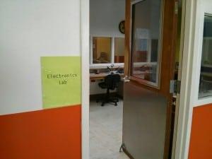 Innovation Labs electronics lab. Photo by Greg Falken.