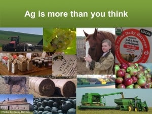 Ag plays a key role in rural prosperity