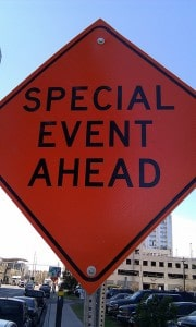 How to promote special events in a small town