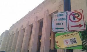 GR Tag Tour Stop 3 sign