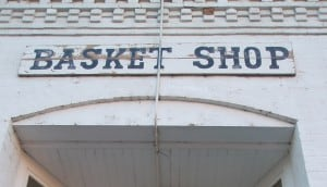 Basket Shop Photo by Joel Kramer