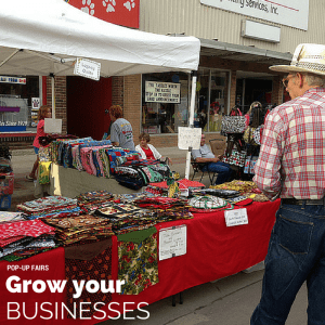 POP-UP Fairs Grow Your Businesses