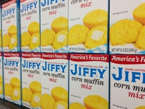 You've seen the blue Jiffy Mix boxes a million times. But did you know they come from a small town? Photo by Becky McCray.