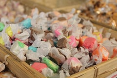 Basket of sweets. Photo (CC) by Marilyn Acosta on Flickr