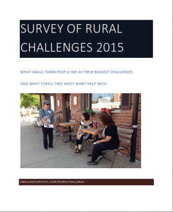 What rural people say they need: the Survey of Rural Challenges