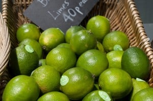 Basket of limes by David Bleasdale on Flickr