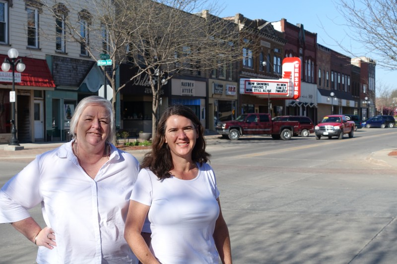 Deb Brown and Becky McCray take it to the streets in small towns.