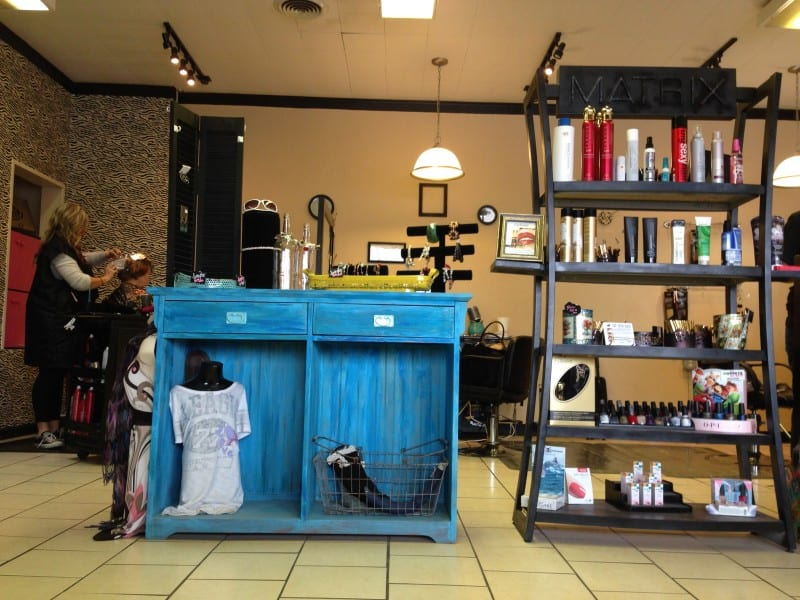 Beauty salons are natural business incubators. Photo by Becky McCray