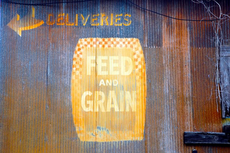 Deliveries. Feed and Grain.