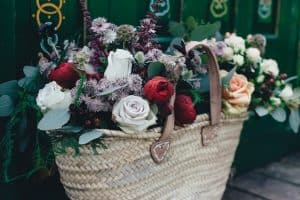 Your good news flowers in the Brag Basket