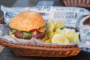 The good news in the Brag Basket is as tasty as a burger and chips