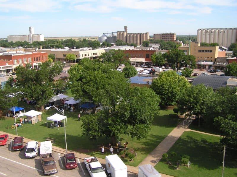 Downtown Alva, Oklahoma. Photo by Becky McCray
