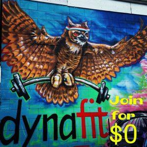 modern mural in Ontario