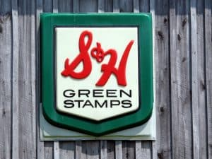 S & H Green Stamps - original reward program