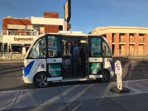 How will autonomous vehicles work in small towns?
